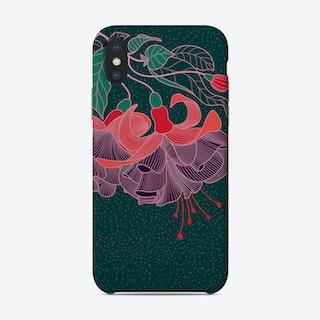 Fuchsia Flower Phone Case