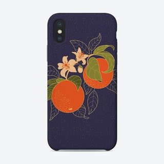 Orange Branch Phone Case