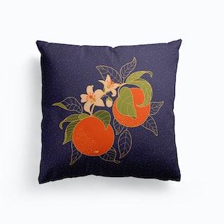 Orange Branch Cushion