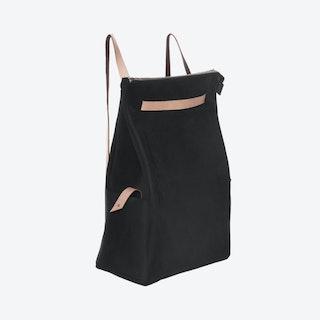 Backpack - Black/Nude