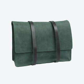 Double Strap Backpack - Green
