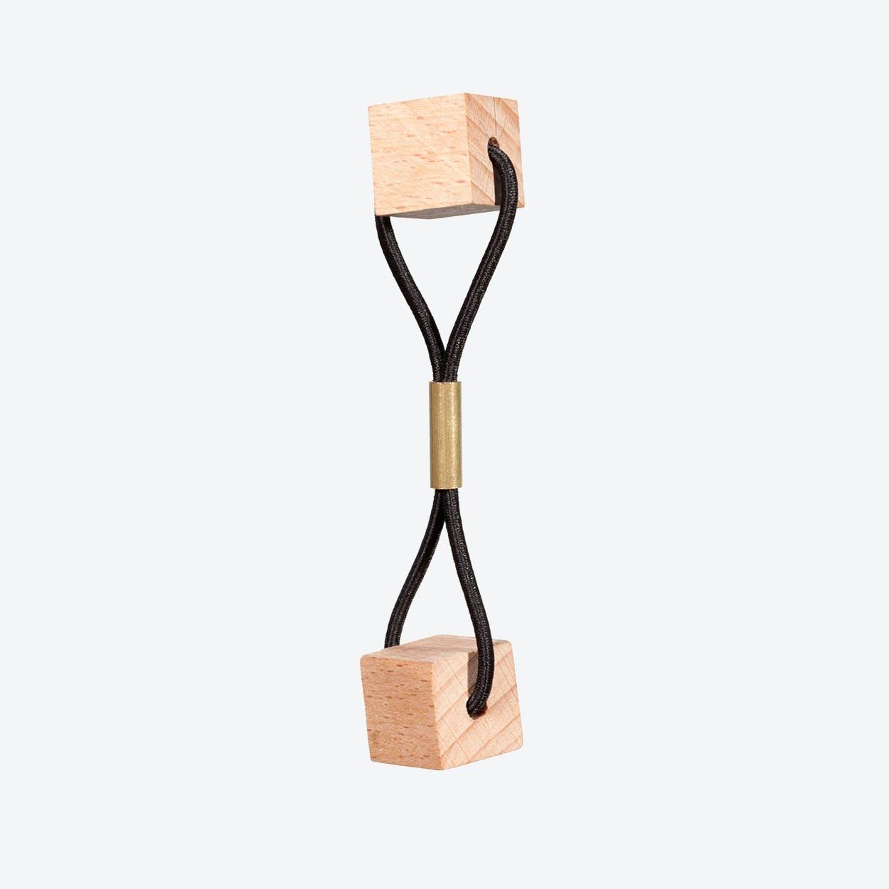 Blocks Hairband - Beech
