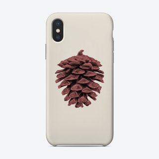 Red Pine Cone Phone Case