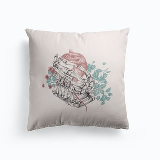 Hands And Life Cushion