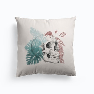 Skull And Life Cushion