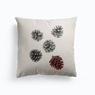 Pine Cones Cushion