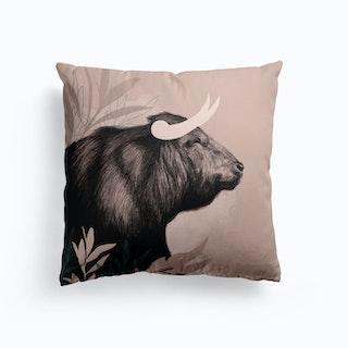 Bull Cushion