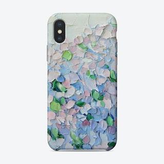 Petite Hydrangeas Phone Case
