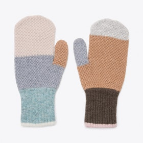 Paintbox Mitts in Haze