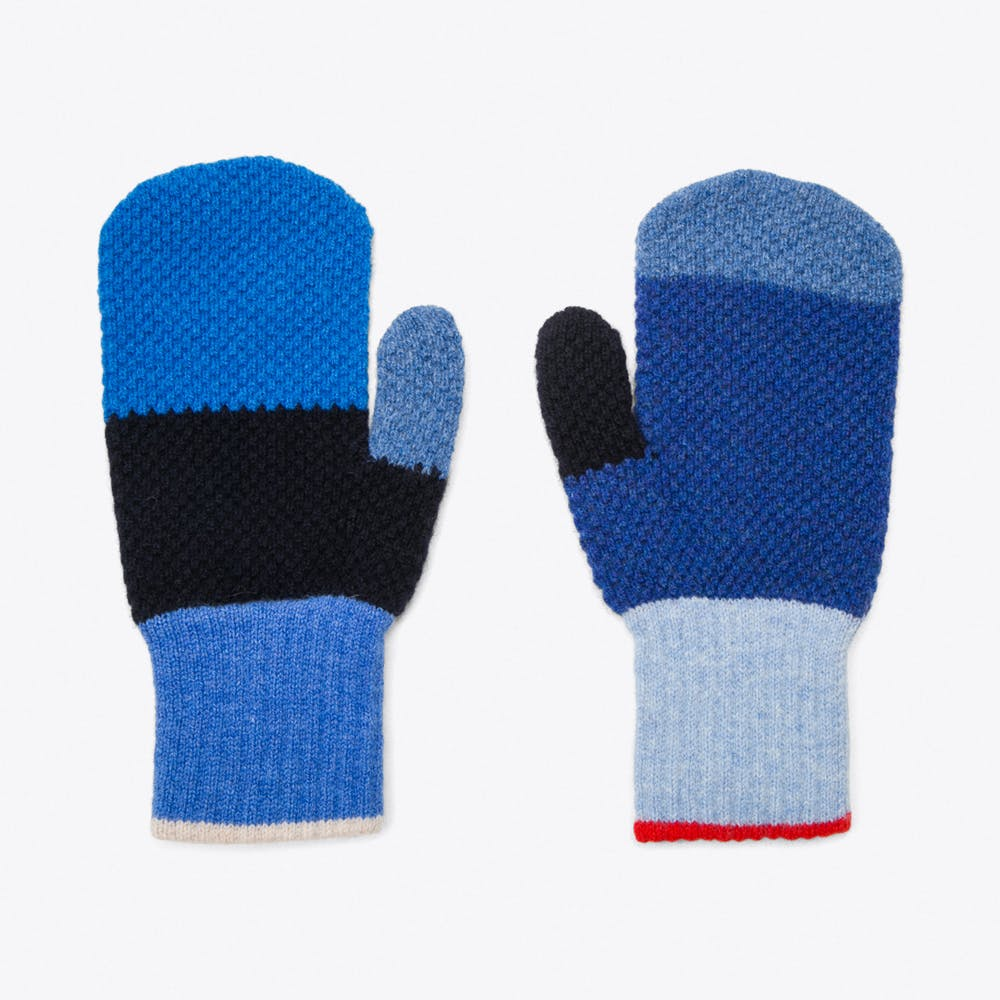 Paintbox Mitts in Cirrus