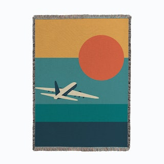 Fly Away Woven Throw