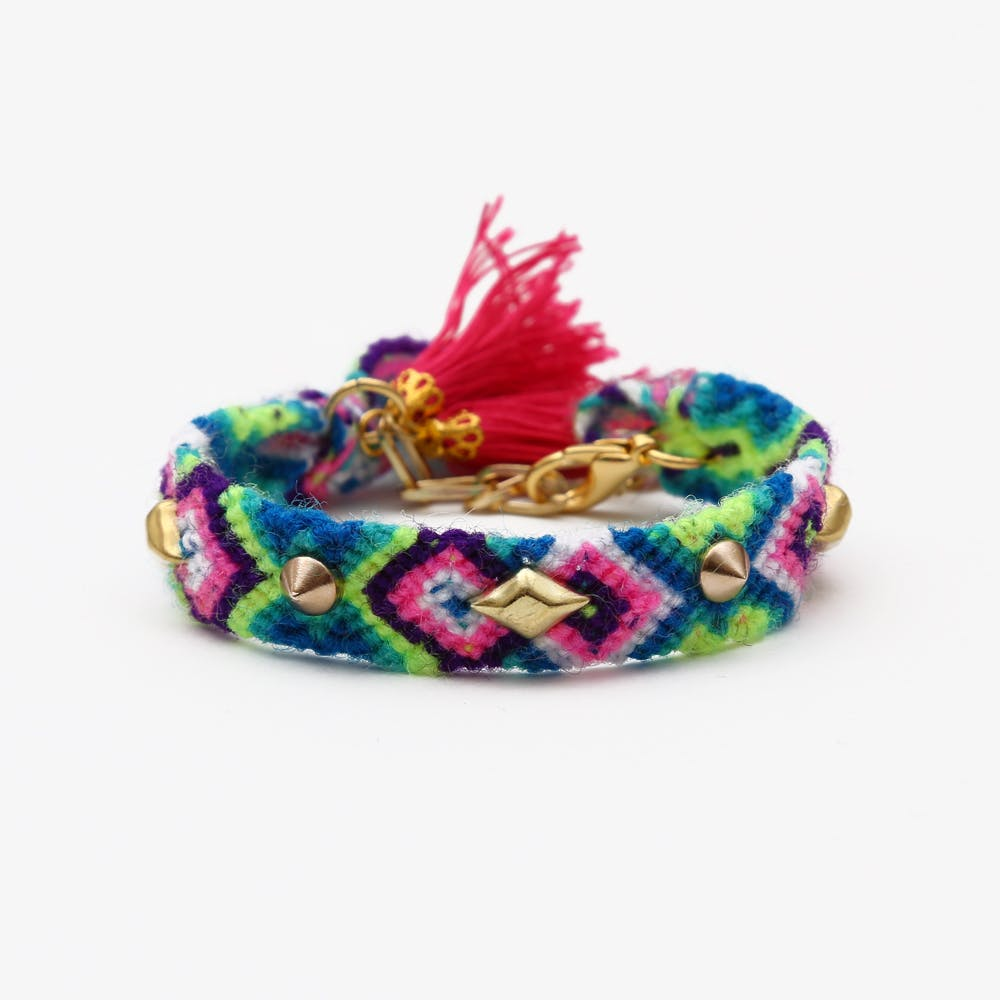 Fes Friendship Wristband with Tassels