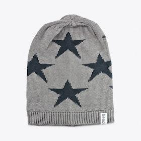 Grey Star Beanie