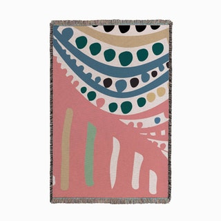 Ode To Yayoi Small Small Woven Throw