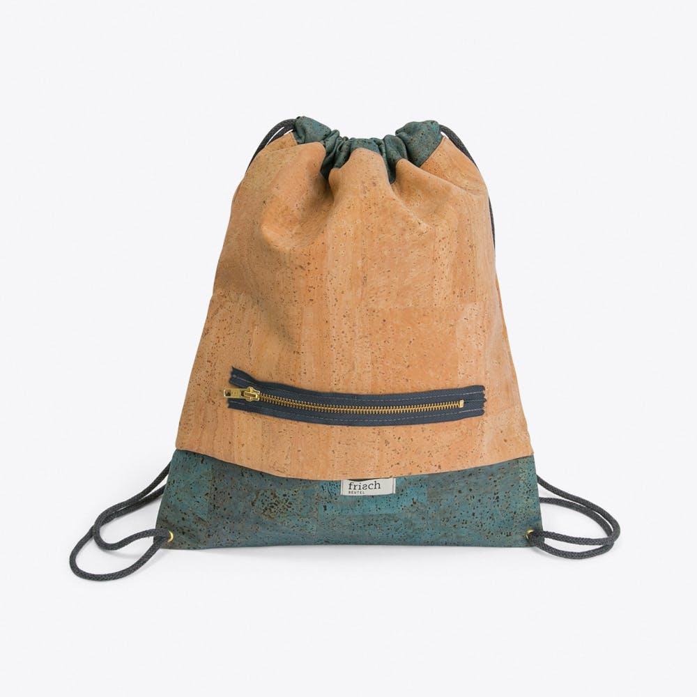 Drawstring Bag in Cork