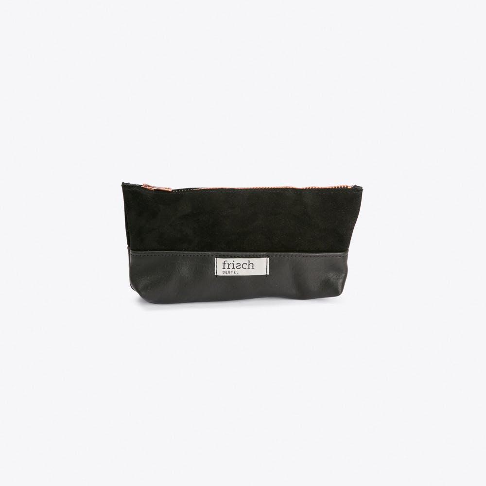 Long Make Up Bag in Black