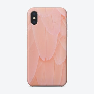 Blush Scandi Feathers Phone Case