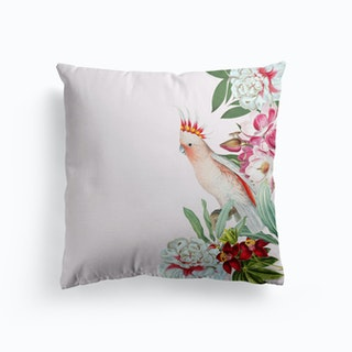 Cockatoo Vintage Floral Cushion