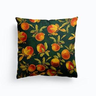 Night Vintage Apple Fruit Garden Cushion