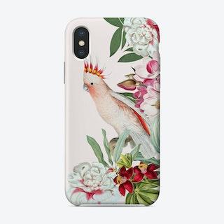 Cockatoo Vintage Floral Phone Case