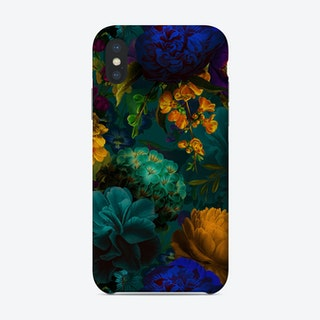 Dark Vintage Flowers Garden Phone Case