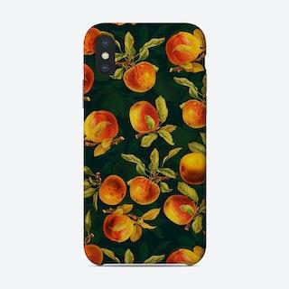 Night Vintage Apple Fruit Garden Phone Case