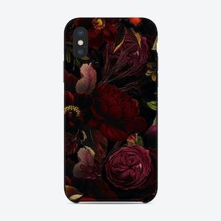 Dark Vintage Rose Garden Phone Case