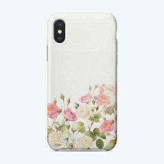 Summer Redoute Vintage Roses Garden Phone Case