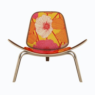 Summer Flowers Lounge Chair