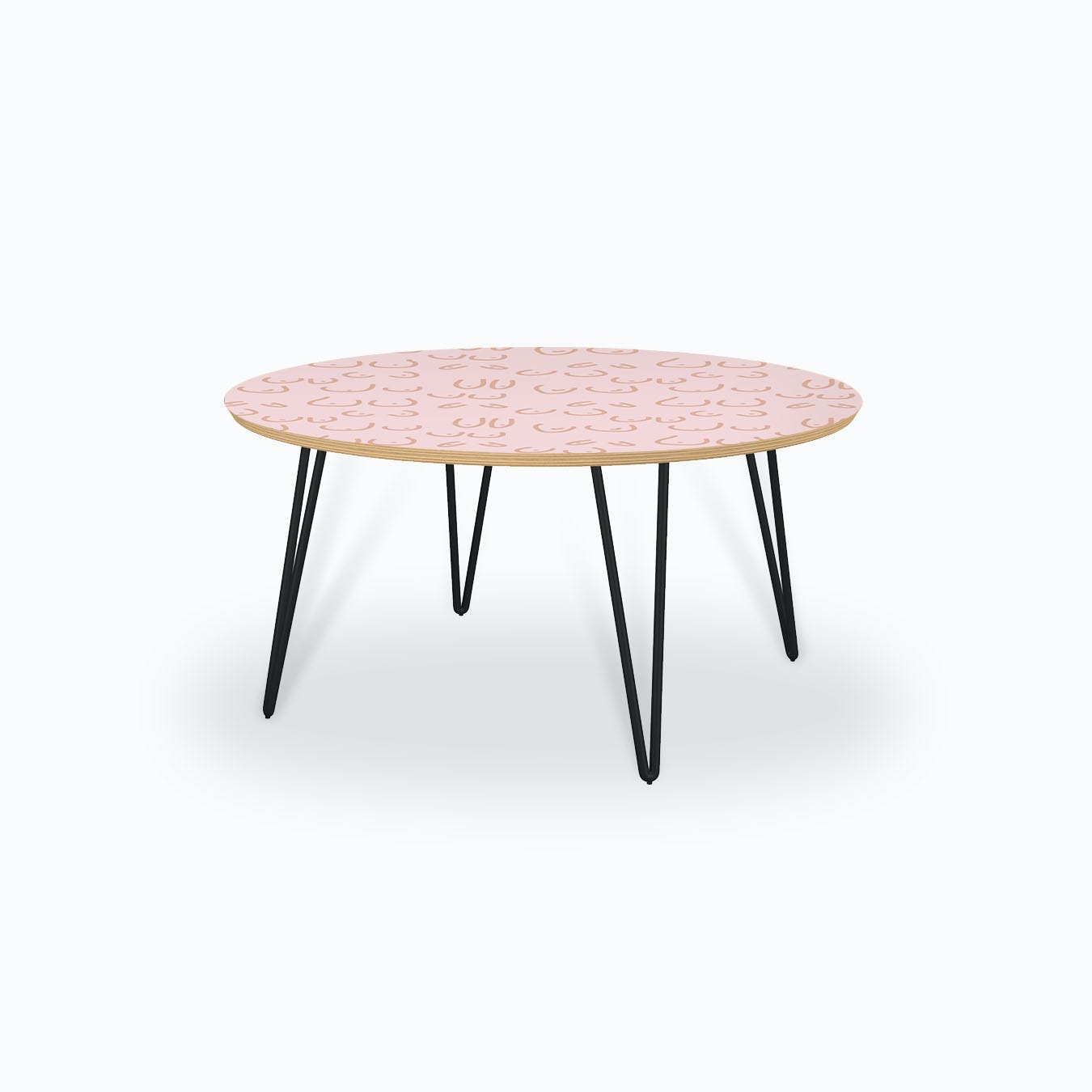 - Boobies Pink Coffee Table By Mambo Furniture - Fy