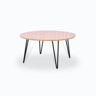 Boobies Pink Coffee Table