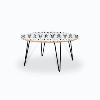 Scandi Art no1 Coffee Table