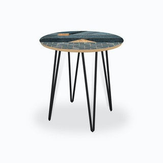 Nordic Blue Side Table