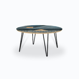 Nordic Blue Coffee Table
