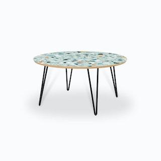 Mint Terrazzo Coffee Table
