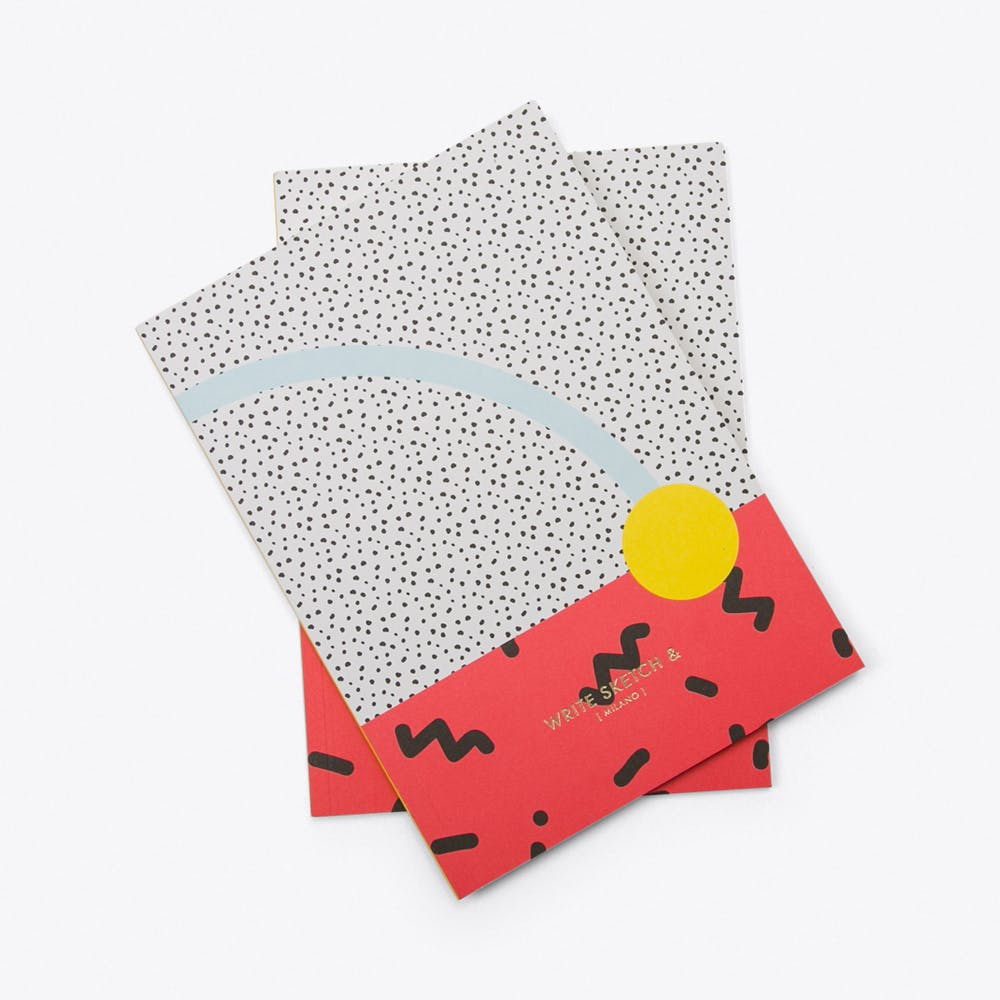 Super! Confetti Notebooks, Set of 2