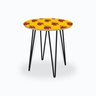 Tiger Yellow Side Table