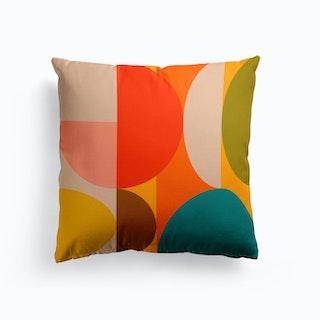 Mid Century Coloured 2 Cushion
