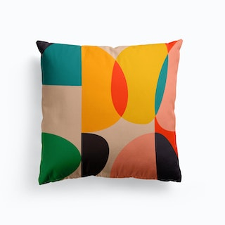 Mid Century Colored Cushion