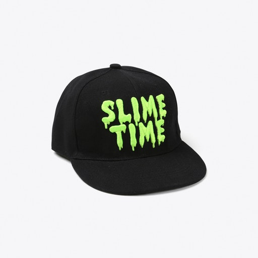 Slime Time Cap in Black