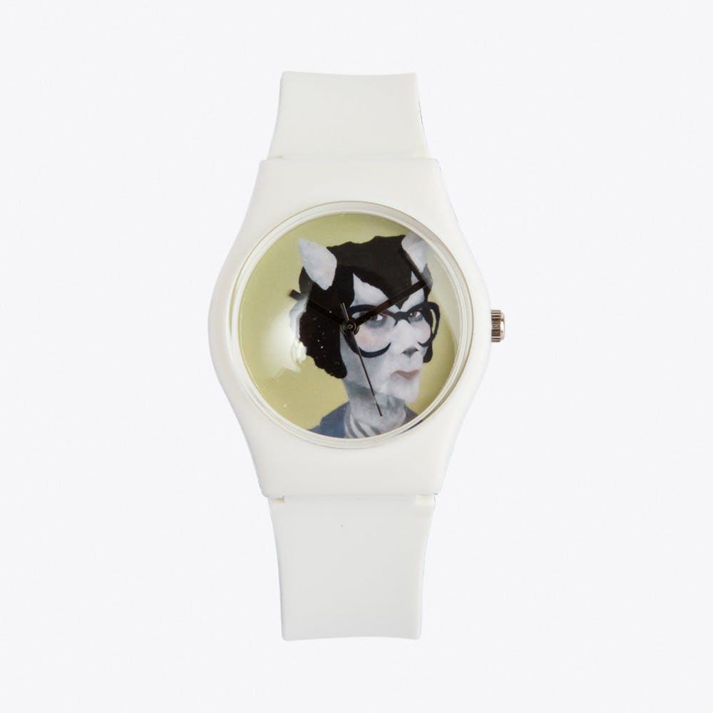 Jiab Watch in White
