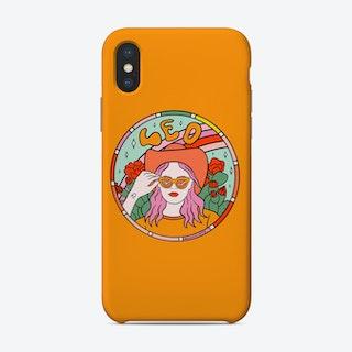 Leo Cowgirl Phone Case