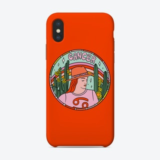 Cancer Cowgirl Phone Case