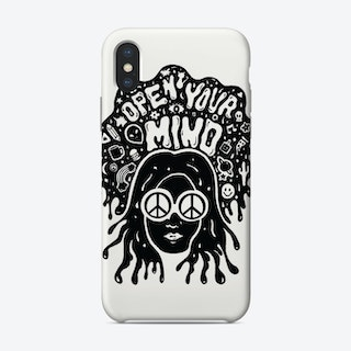 Open Your Mind Phone Case