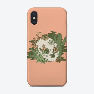 Desert Skull Phone Case