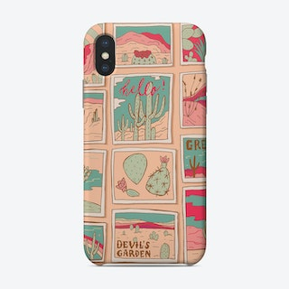 Travel Postcards Phone Case