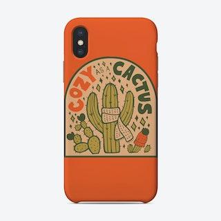 Cozy As A Cactus Phone Case