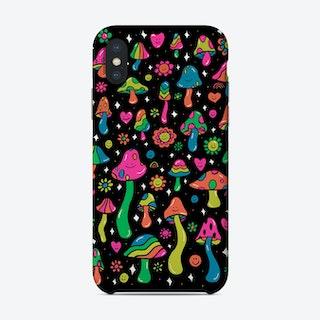 Rainbow Mushroom Phone Case