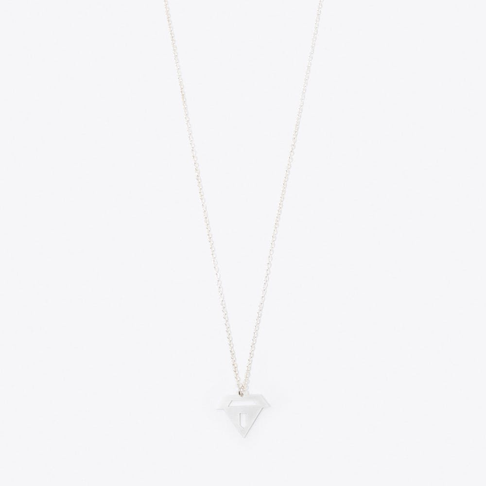 Treasure Pendant Necklace in Silver