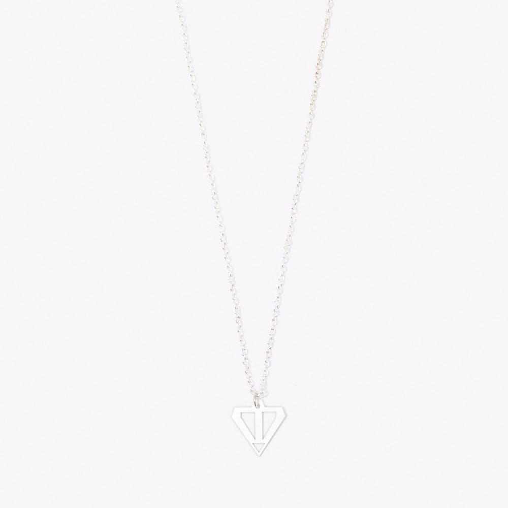 Arrow Pendant Necklace in Silver
